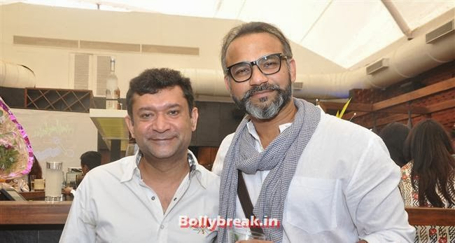 Ken Ghosh with Abhinay Deo