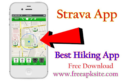 Strava App - The Best Hiking App For Android 2019 - Free Apk Site