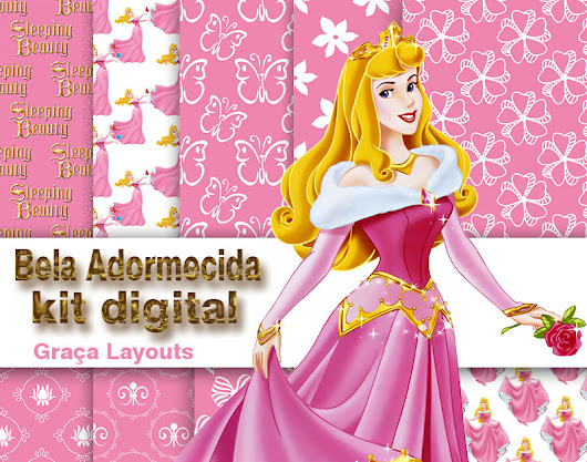 Kit digital Bela Adormecida gratis