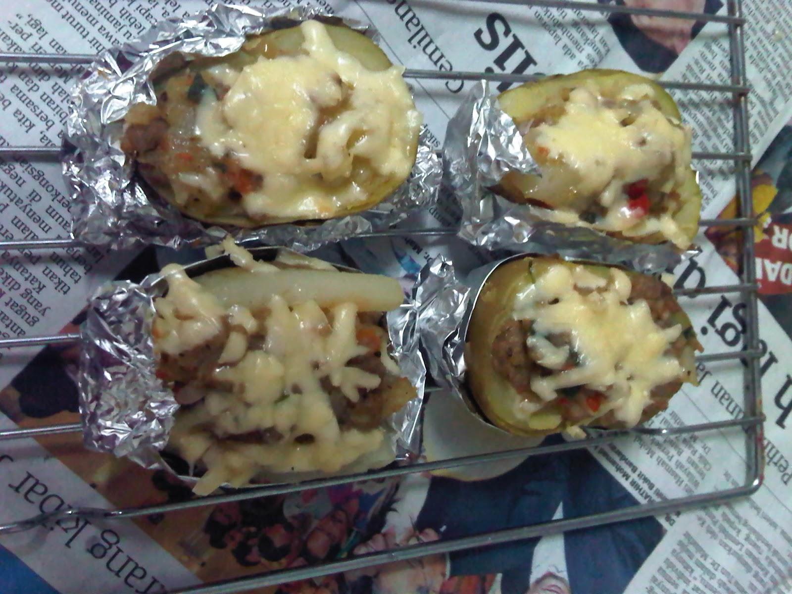 peace2 kacang peas :): Resepi Kentang Bakar