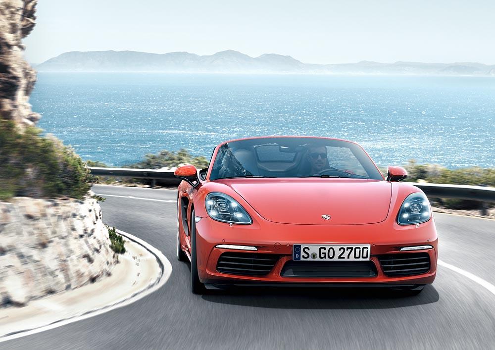 5 Με δίλιτρο turbo μπόξερ 300 ίππων η Porsche 718 Boxster Porsche, Porsche 718 Boxster, Porsche 718 Boxster S, Porsche Boxster, Roadster, videos