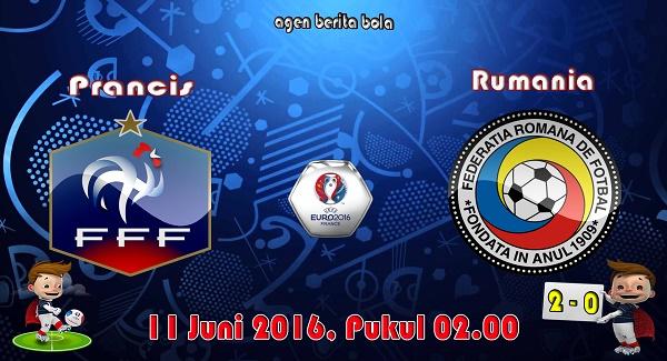 prediksi bola prancis vs rumania euro 2016