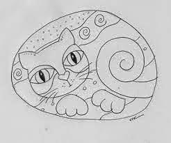 Dibujo, Pintura, Gato