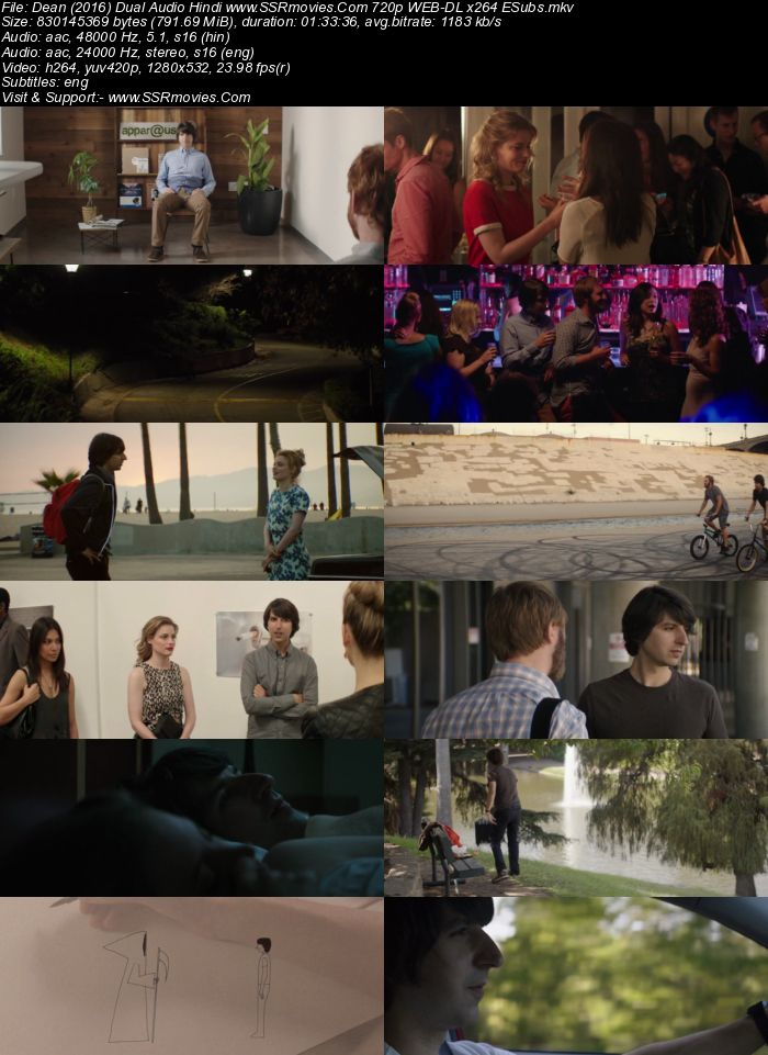 Dean (2016) Dual Audio Hindi 720p WEB-DL x264 800MB ESubs Movie Download