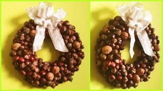 How to make Autumn wreath