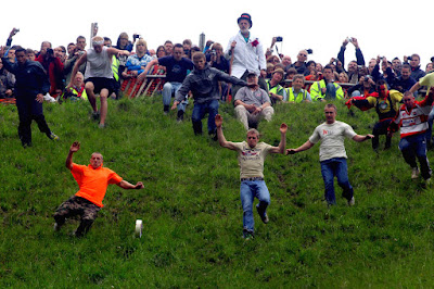 Cooper's Hill Cheese Rolling and Wake, England
