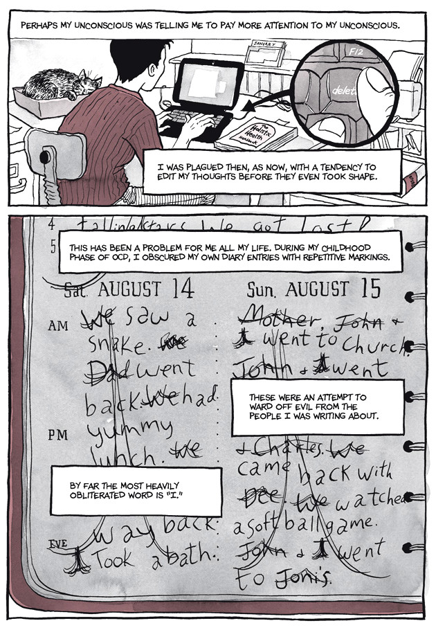 Page 11, Chapter 2: Transitional Objects from Alison Bechdel's graphic novel Are You My Mother