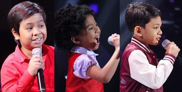 The young artists of 'The Voice Kids' Season 3.