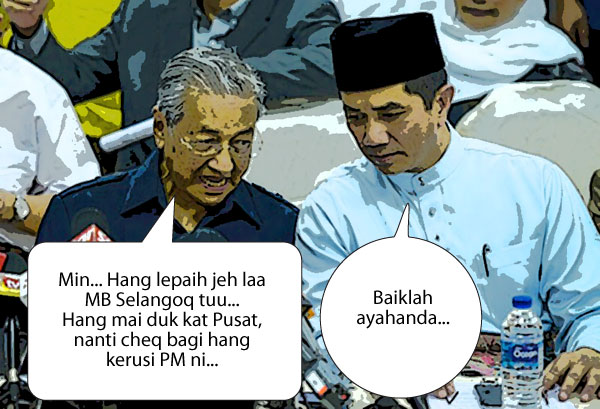 Azmin PM kelapan, bukan Anwar...???