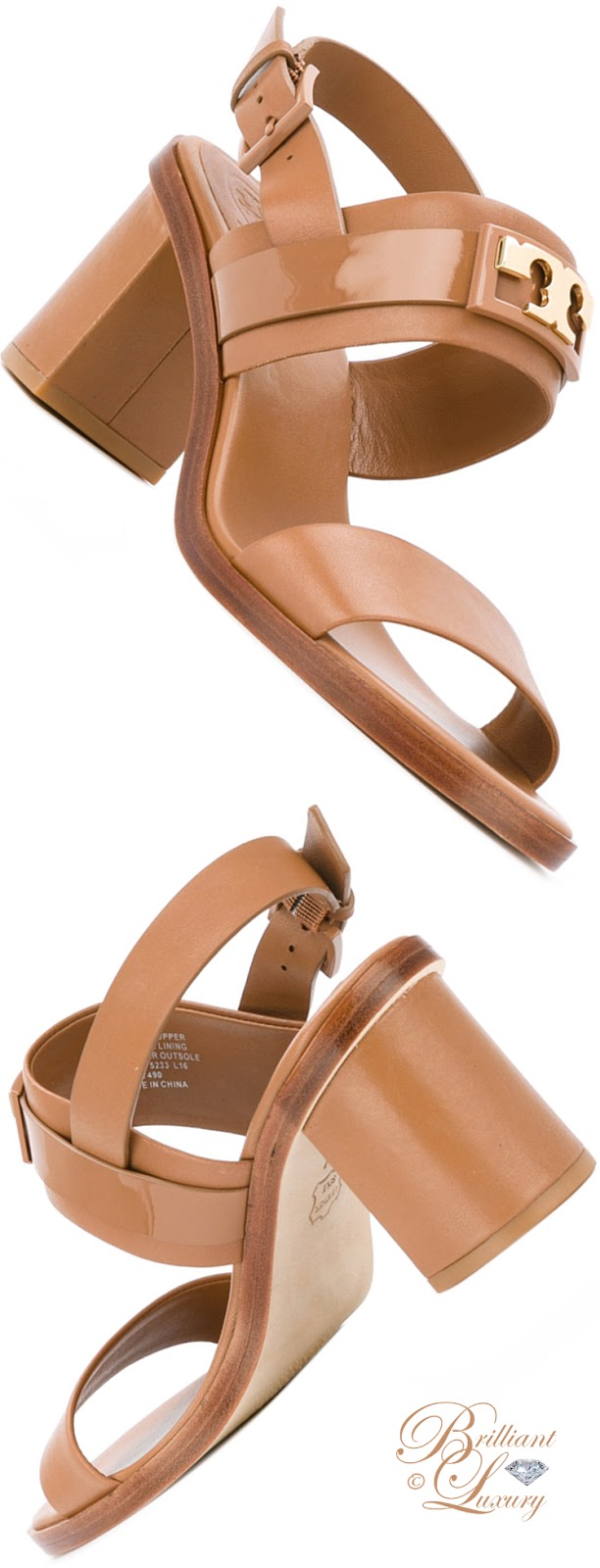 Brilliant Luxury ♦ Tory Burch Chunky Heel Sandals