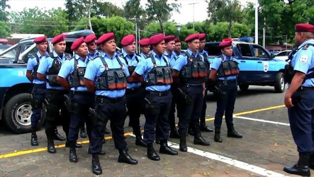 Policía de Nicaragua aumenta operativos para garantizar seguridad