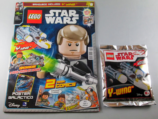 Revista LEGO Star Wars nº30 - abril 2018