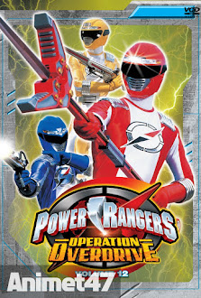 Siêu Nhân Tốc độ -Power Ranger Operation Overdrive -  2007 Poster