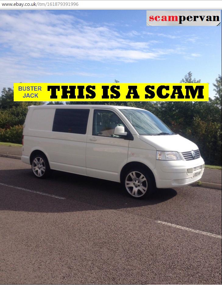 Ebay Scam 2008 Vw Transporter T5 T28 Candy White Lr08nhf Fraud Theft Lr08 Nhf 07 Nov 15 Jack Buster Jack