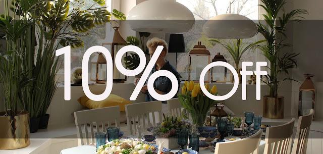 Trwa PROMOCJA -10% na wszystko w tenDOM
