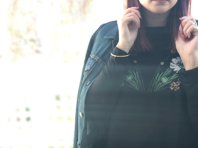 mirror embroidery, Zaful, affordable fashion, style blog