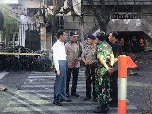 Pernyataan Presiden Joko Widodo Tentang Serangan Bom Bunuh Diri di Surabaya