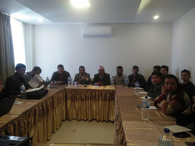 meeting in nepal