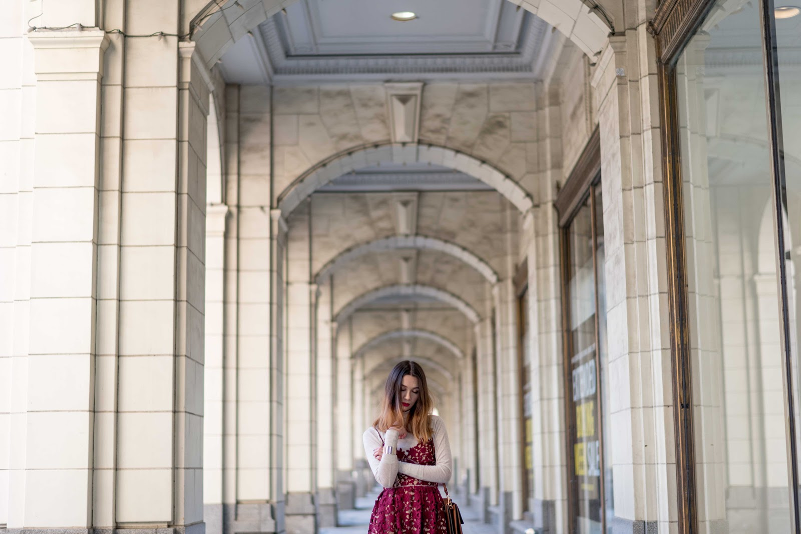 layering dress, self portrait azaelea dress, michael chan photography, valentine's day outfit, date outfit, calgary fashion