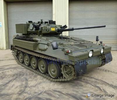 satchel for sale mod cvrt scimitar armoured reconnaissance vehicle. Black Bedroom Furniture Sets. Home Design Ideas