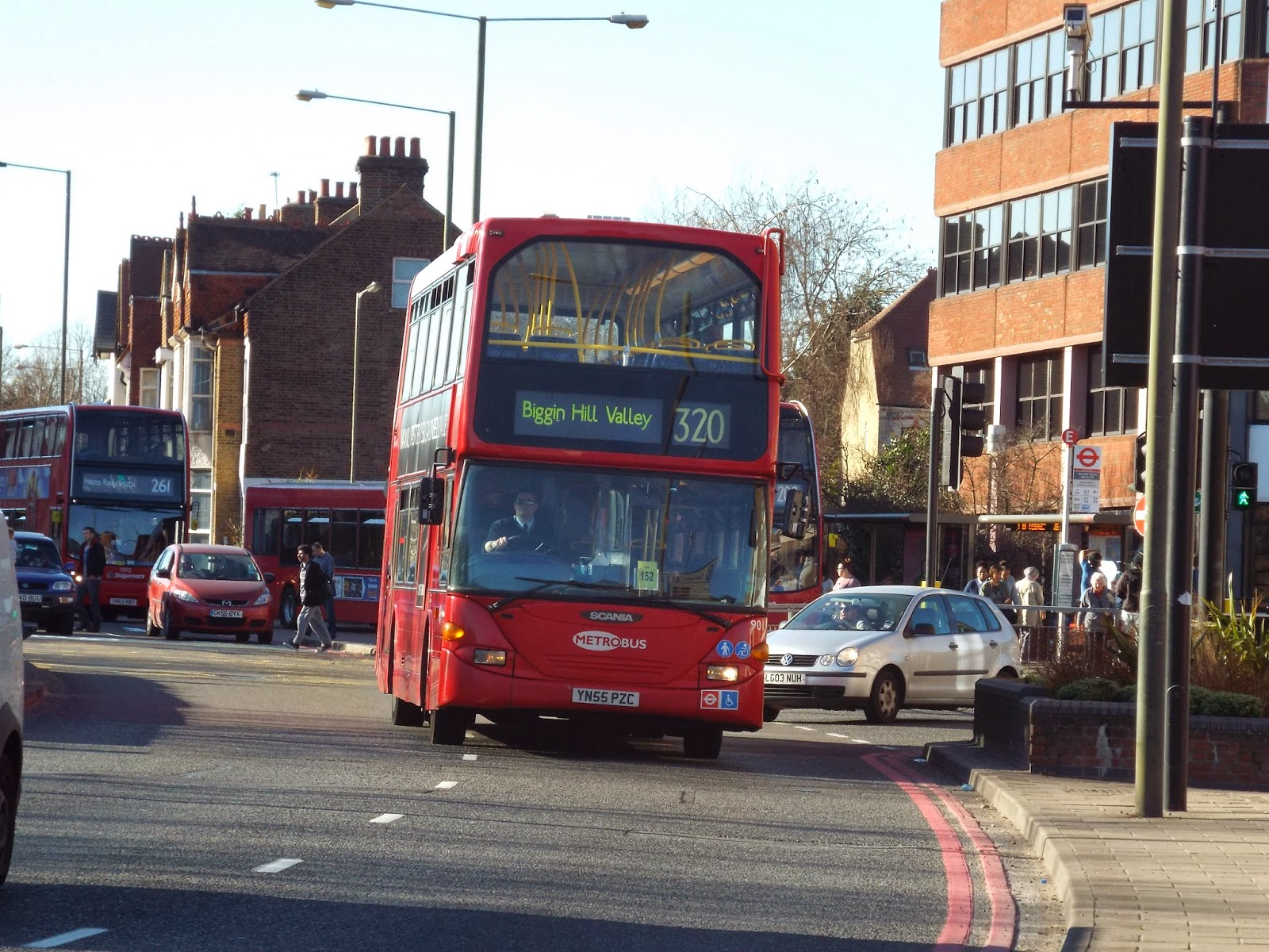 South London Bus Route 320 The South London Bus Blog