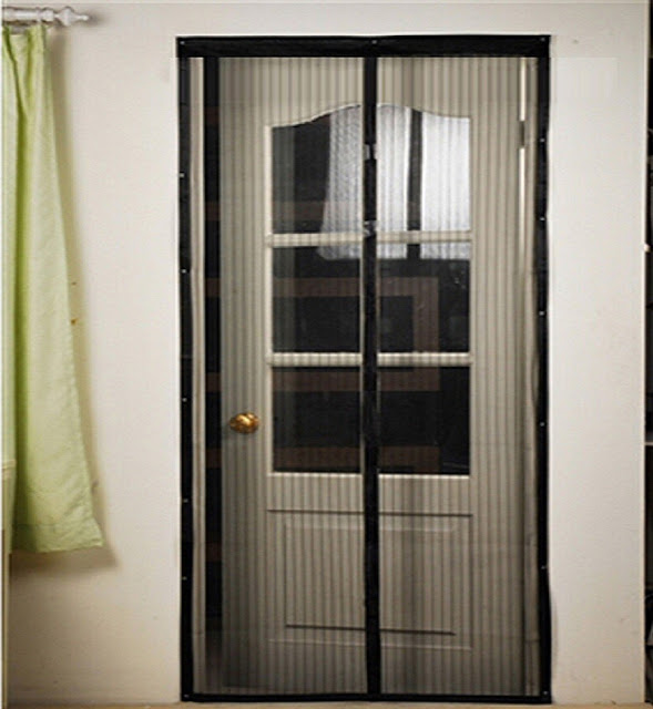 Wonderful Mosquito Net For Door #16 - Mosquito Nets Can Be Replaced Many Times Without The Need For A New  Framework.