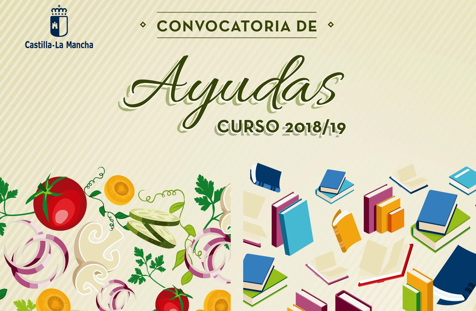 Convocatoria de ayudas - Libros de texto. Curso 2018/2019