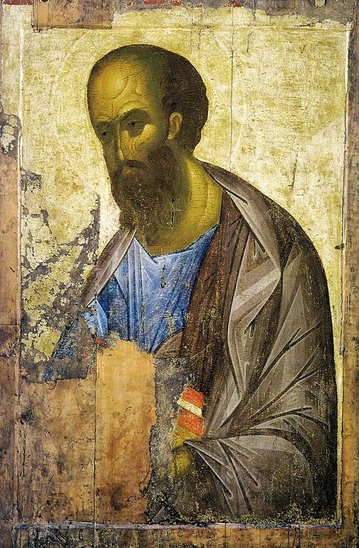 Apóstolo Paulo - Andrei Rublev e suas pinturas ~ Bizantino