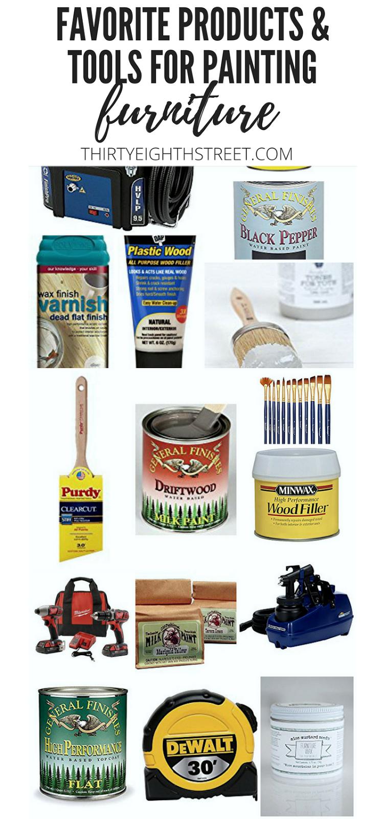 best paint, best painting supplies, popular chalk paint, best spray paint gun, best wood filler, best paint brushes