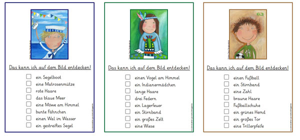 Lesekarten - Grundschule