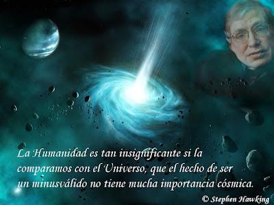 Frase de Stephen Hawking