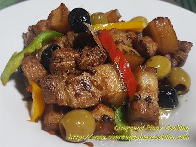 Pork Adobo in Olives Oil