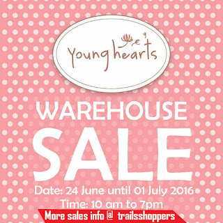 Young Hearts Warehouse Sales 2016