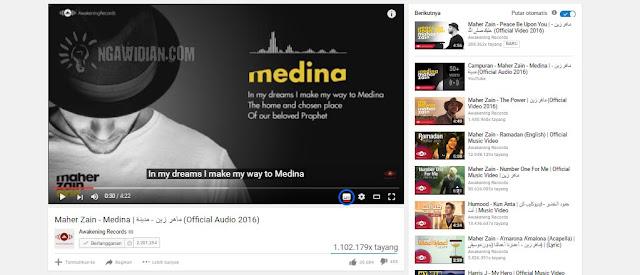 Cara Menampilkan Subtitle Youtube
