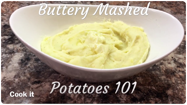 Buttery Mashed Potatoes 101 Recipe