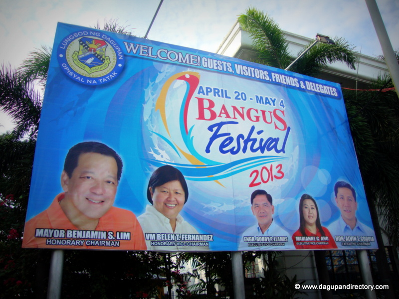 Dagupan City Bangus Festival 2013 Schedule of Activities
