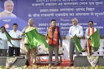Agartala finally gets Rajdhani Express