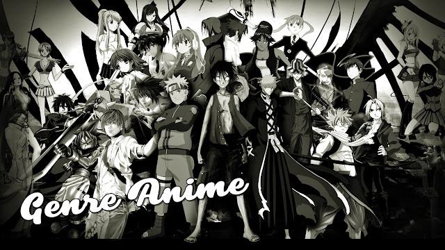 Genre Anime Jepang