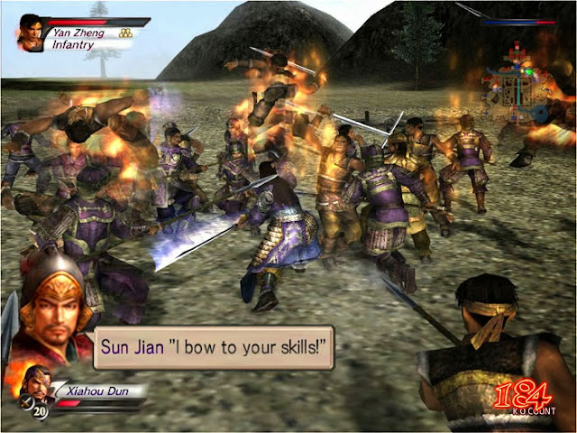 Dynasty Warrior 4 Hyper PC Download Free Gameplay