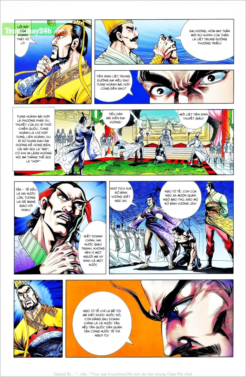 Tần Vương Doanh Chính chapter 24 trang 13