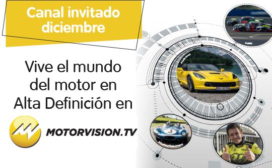 Motorvision TV canal invitado Telecable