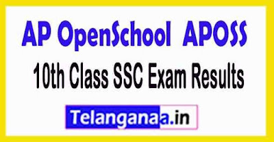 APOSS 10th Class SSC Exam Results