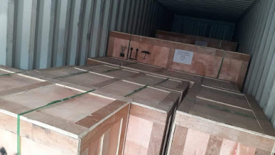 Undername Export Door to Door Jakarta to Germany 20 FT-T.O.S-DDP