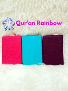 al-quran cantik, al-quran warna warni, al-quran cantik rainbow, al-quran rainbow yasmina zahra