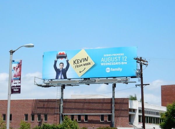 Kevin (from Work) series premiere billboard