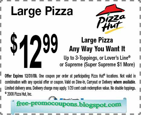 image regarding Pizza Hut Printable Application identified as √ Printable Discount coupons 2018: Pizza Hut Coupon codes