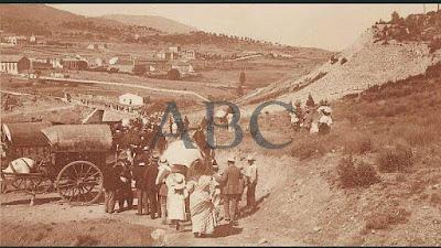"""San Rafael y sus """"Trenes Domingueros"""" en 1906"""