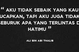 Nasihat Ali bin Abi Thalib Tentang Dunia