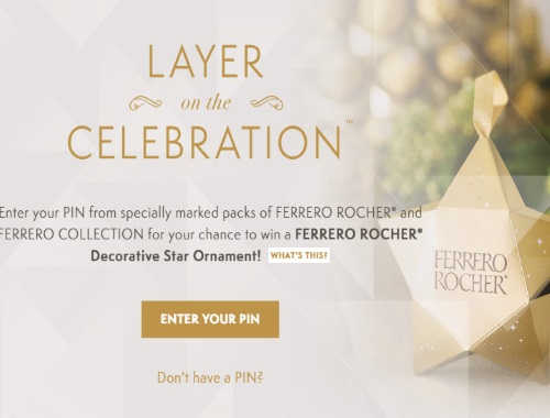 Ferrero Rocher Decorative Star Ornament Contest