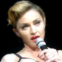 Madonna flashes crowd during concert in Istanbul, Turkey